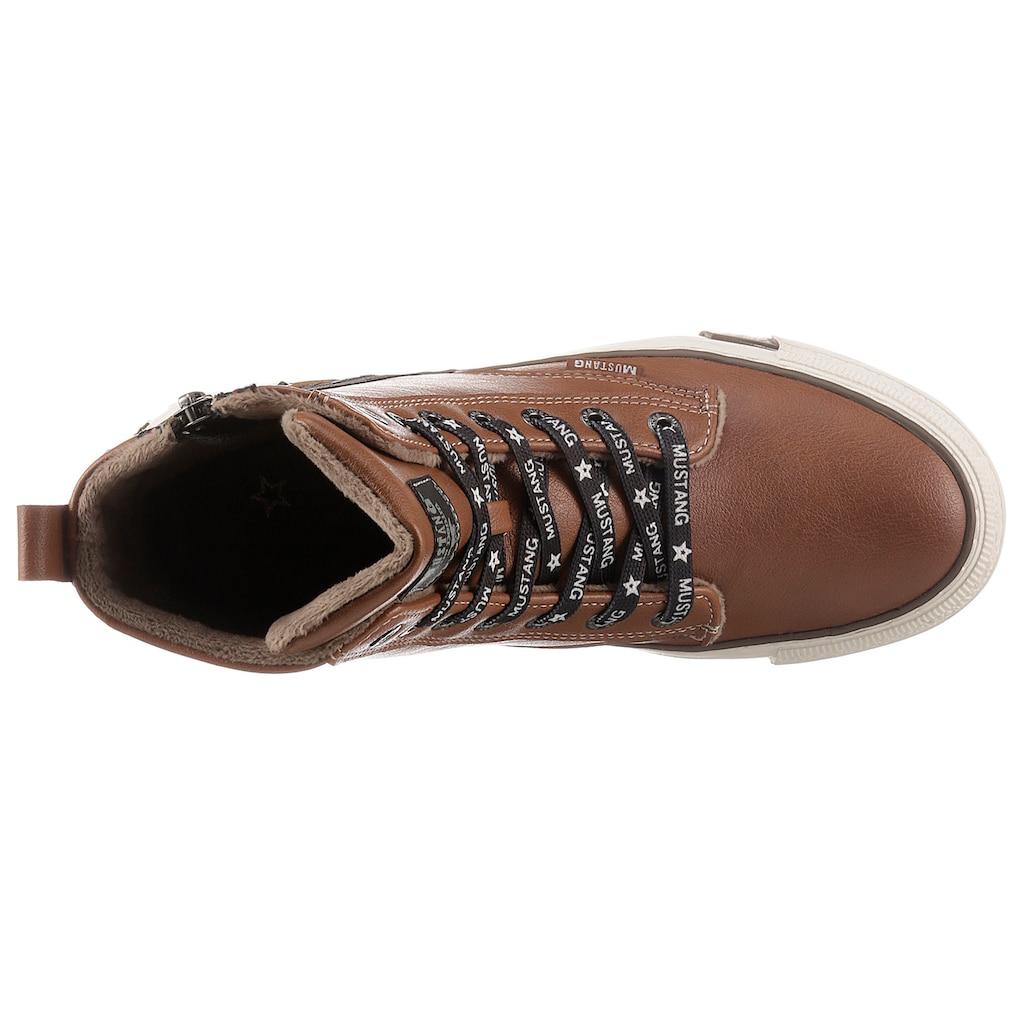 Mustang Shoes Sneaker, mit Reißverschluss