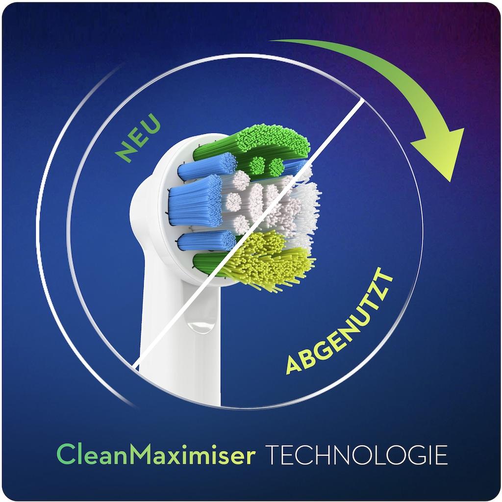 Oral B Aufsteckbürsten »Precision Clean CleanMaximiser«, CleanMaximiser-Technologie