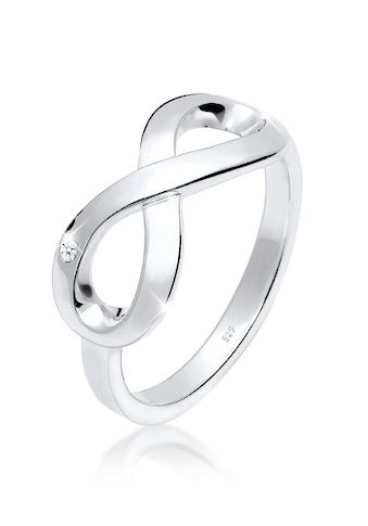 Elli Diamantring »Infinity Ewig Diamant (0.015 ct.) 925 Silber« kaufen