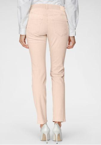 MAC Slim-fit-Jeans »Rich-Slim Terra«, Formgebender Sattel vorne und hinten in besonders ökologischer Waschung kaufen
