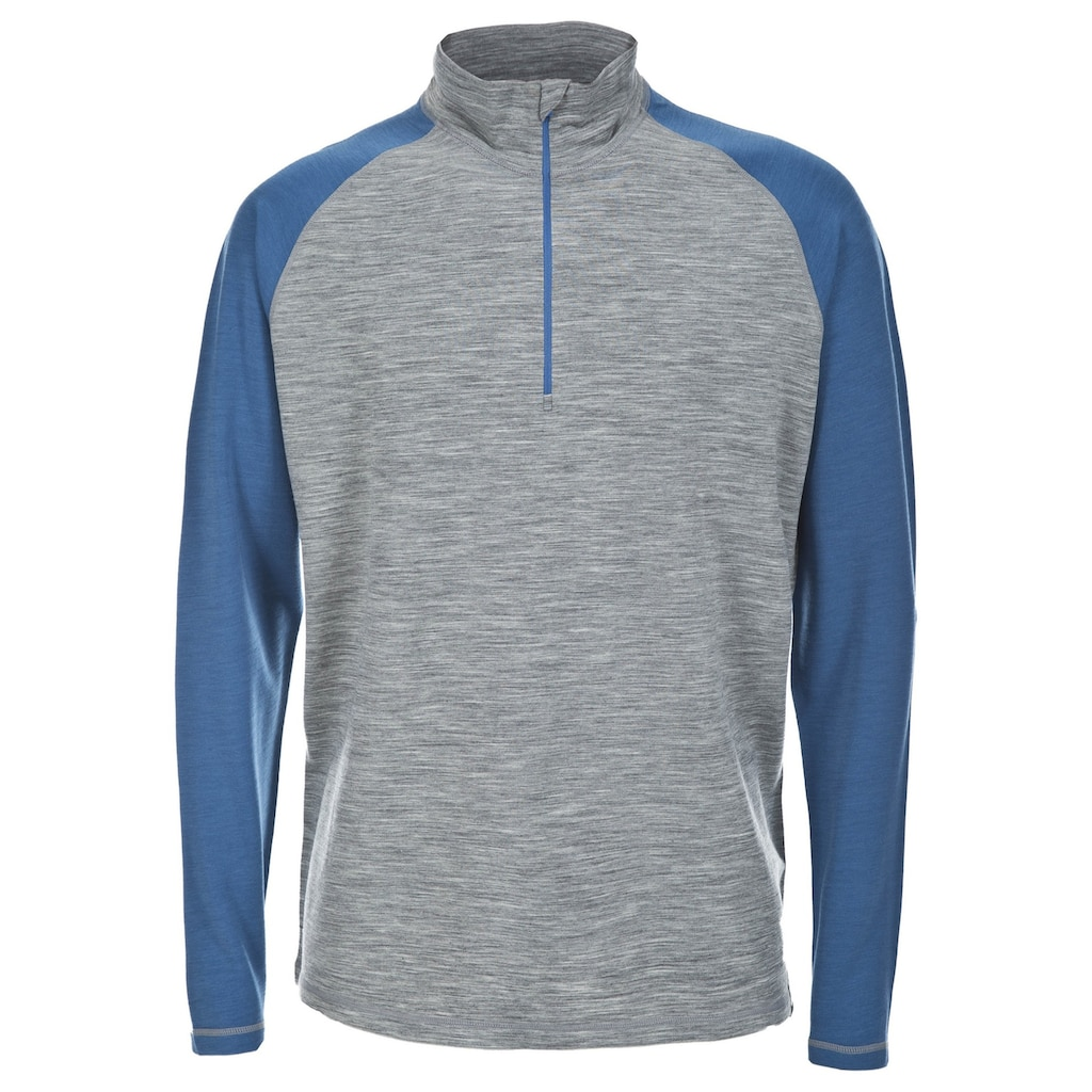Trespass Sweatshirt »Herren Hex Langarm-Top mit Reißverschluss bis zur Brust«