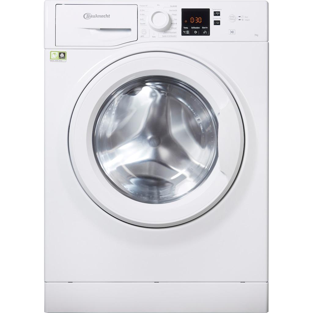 BAUKNECHT Waschmaschine »WBP 714«, WBP 714 (2), 7 kg, 1400 U/min