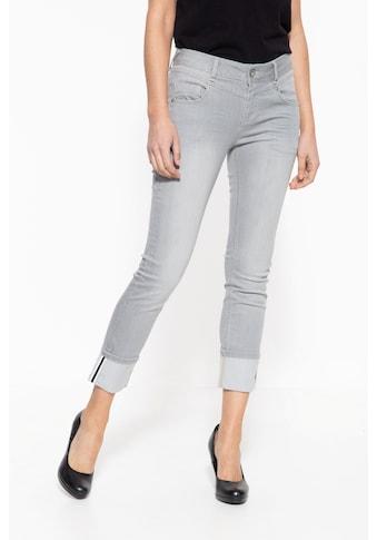 ATT Jeans 7/8-Jeans »Zoe«, mit legerem Beinaufschlag kaufen