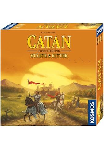 Kosmos Spiel »Erweiterungsspiel, Catan, Städte & Ritter«, Made in Germany kaufen
