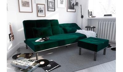 COLLECTION AB Sofa, mit Bettfunktion, elegante Steppung im Rückenteil, inklusive 2... kaufen