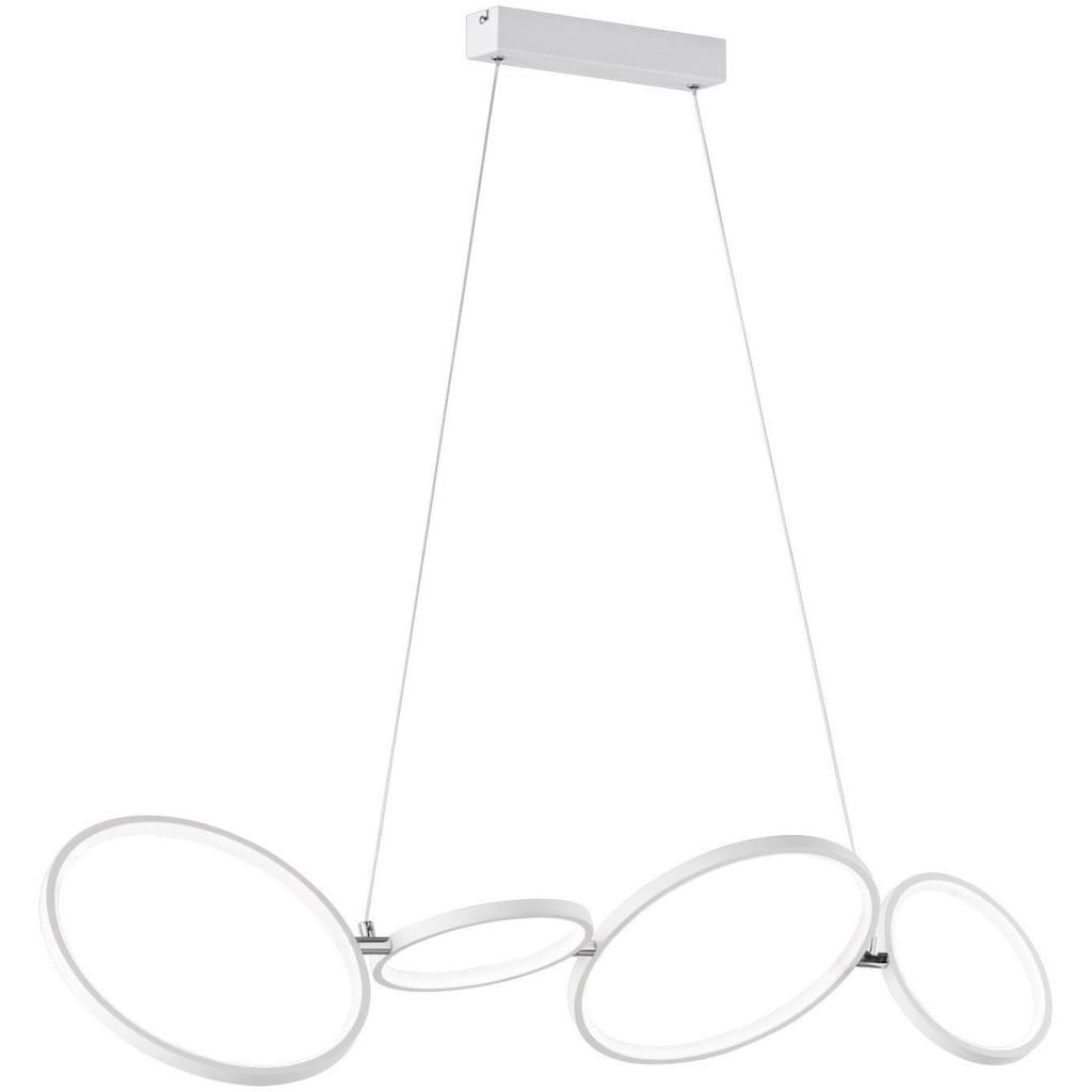 TRIO Leuchten LED Pendelleuchte »Rondo«, LED-Board, Warmweiß, Hängeleuchte, Switch Dimmer