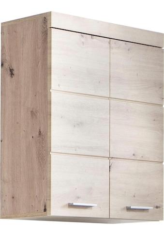 trendteam Hängeschrank »Amanda«, Breite 73 cm, Badezimmerschrank mit verstellbare Zwischenböden, MDF-Fronten in Hochglanz- oder Holzoptik kaufen