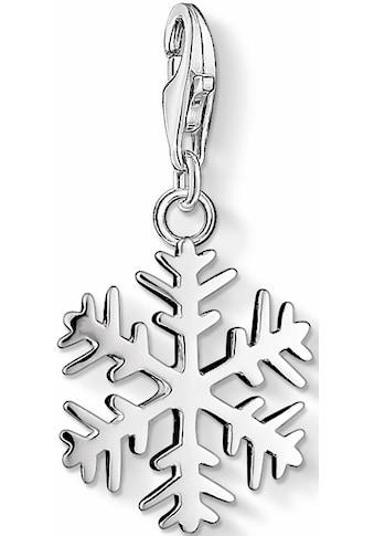 THOMAS SABO Charm - Einhänger »Schneeflocke, 0281 - 001 - 12« kaufen