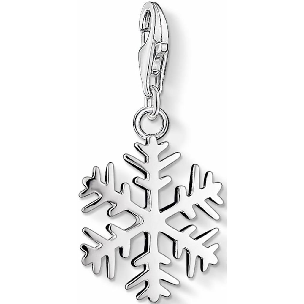 THOMAS SABO Charm-Einhänger »Schneeflocke, 0281-001-12«
