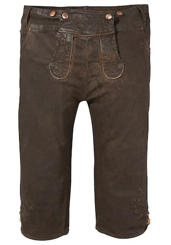 Hangowear Trachtenbermudas, Damen Trachtenkniebundhose kaufen