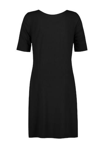 Samoon Jerseykleid »Shirtkleid mit seitlicher Raffung« kaufen