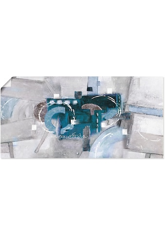 Artland Wandbild »Abstrakte blaue Kreise«, Gegenstandslos, (1 St.), in vielen Größen &... kaufen