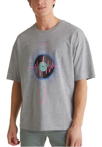 edc by Esprit Print-Shirt, mit großem Frontprint kaufen