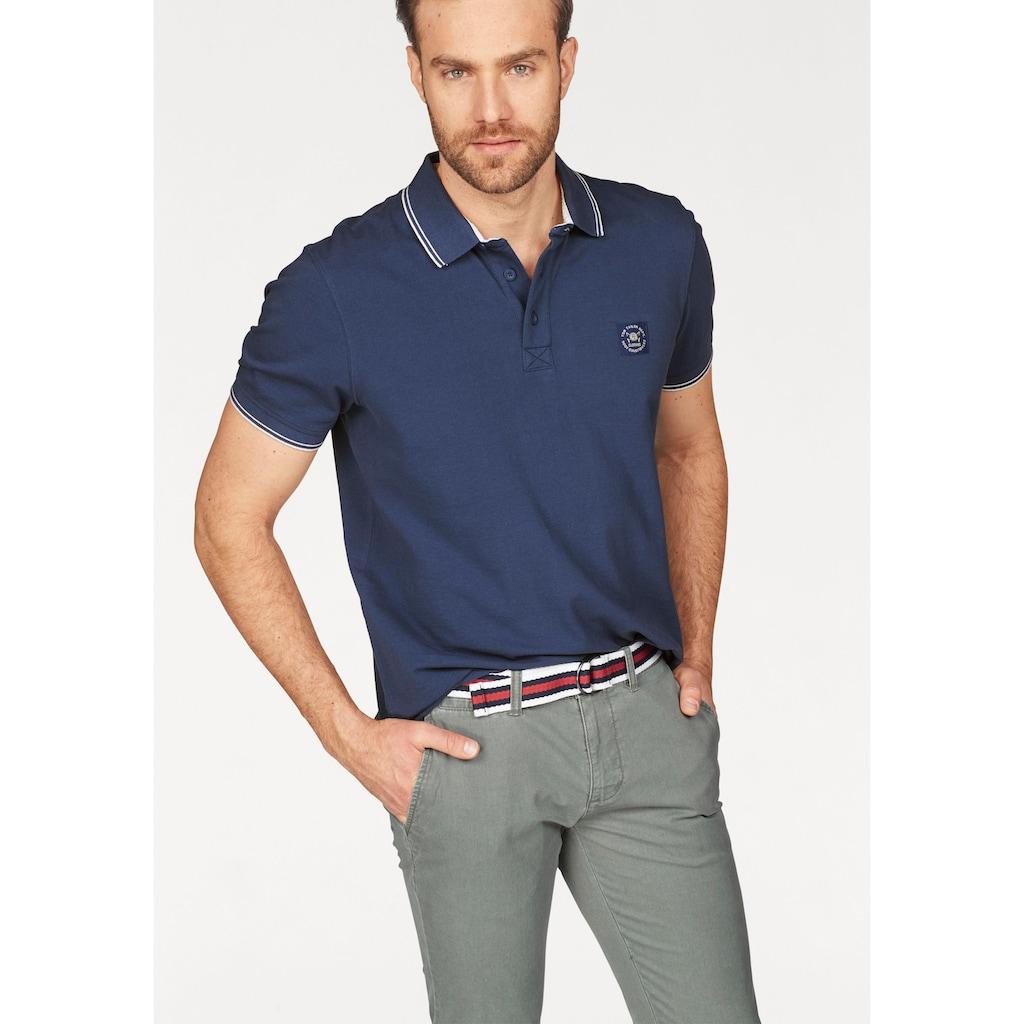 TOM TAILOR Polo Team Poloshirt, mit Markenlabel