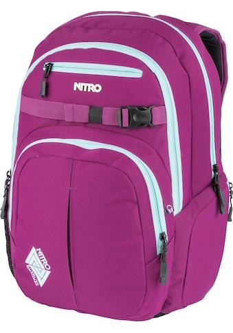 NITRO Schulrucksack »Chase, Grateful Pink« kaufen