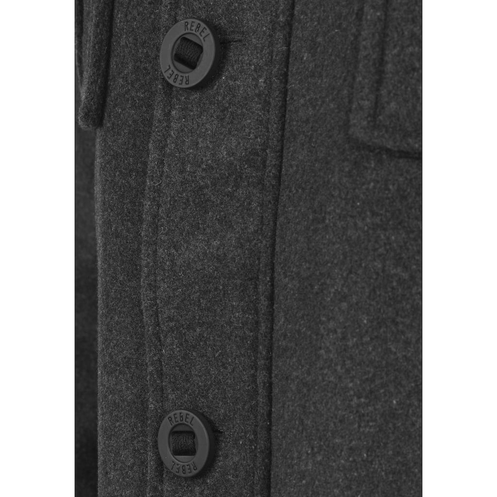 REDEFINED REBEL Kurzmantel »Montana«, Mantel mit hochabschließendem Stehkragen