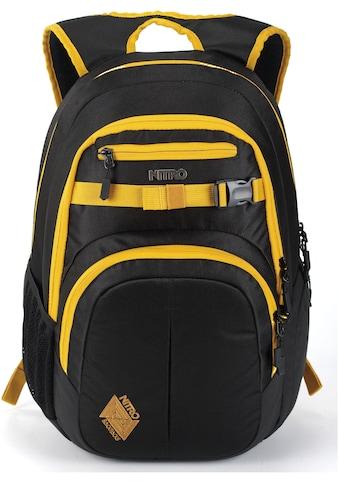 NITRO Schulrucksack »Chase Golden Black« kaufen