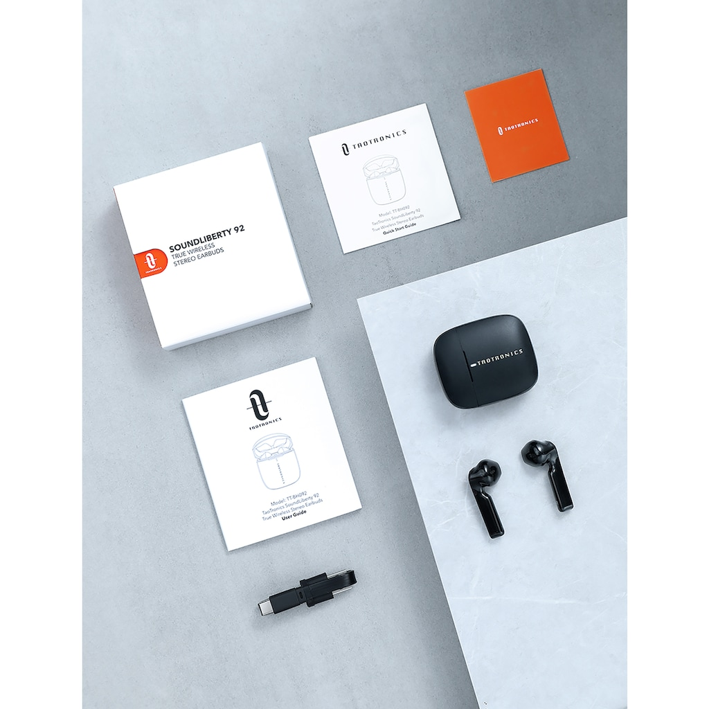 TaoTronics wireless In-Ear-Kopfhörer »TT-BH092«, Bluetooth