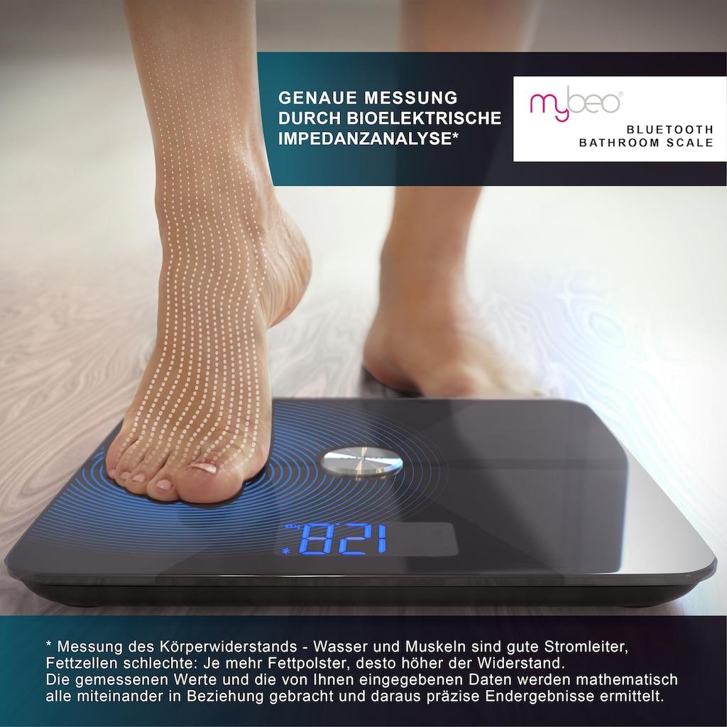 MyBeo Digitale Bluetooth Körperfettwaage