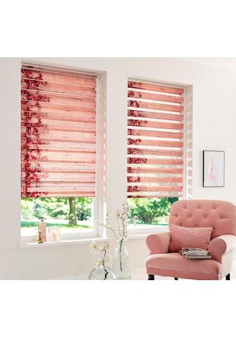 Home affaire Doppelrollo »Print D&n Blind«, Lichtschutz, ohne Bohren, freihängend, im Fixmaß kaufen