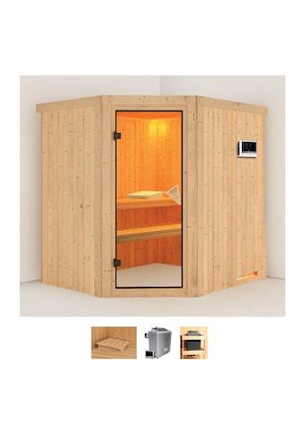 Karibu Sauna »Stine«, 4,5-kW-Ofen mit externer Steuerung kaufen