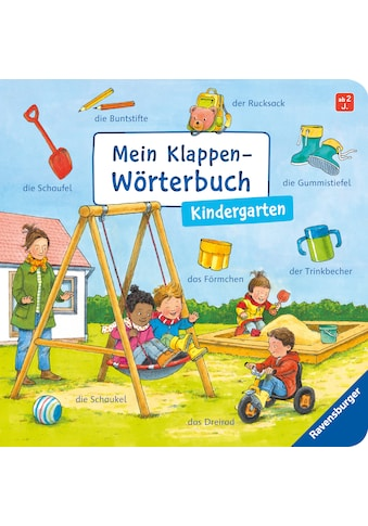 Buch »Mein Klappen-Wörterbuch: Kindergarten / Susanne Gernhäuser, Guido Wandrey« kaufen
