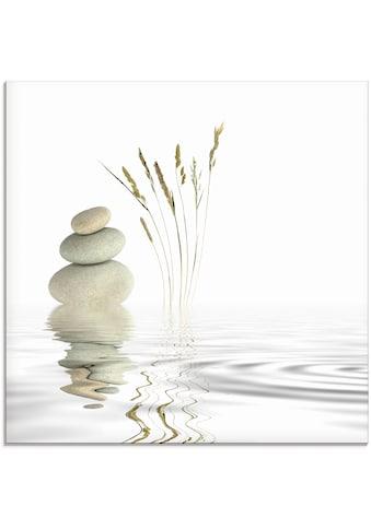 Artland Glasbild »Zen Friede«, Zen, (1 St.) kaufen