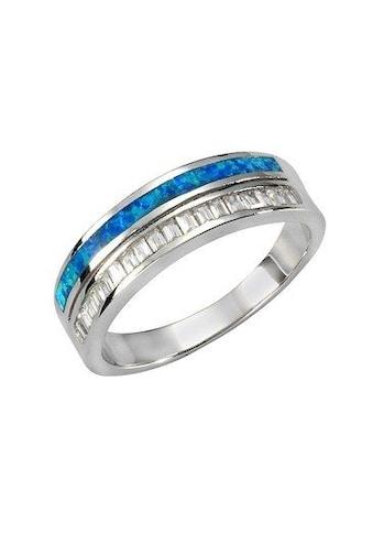 Vivance Fingerring »925/- Sterling Silber Opal & Zirkonia«, Ring kaufen