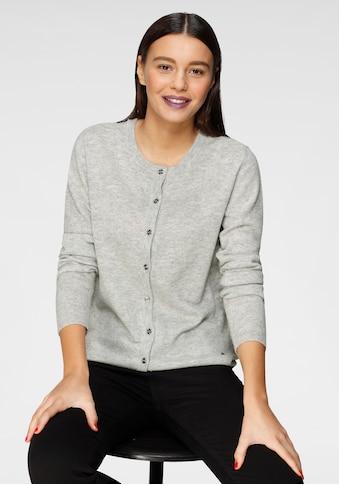 AJC Strickjacke, in Basic-Form aus hochwertiger Merino-Wolle kaufen