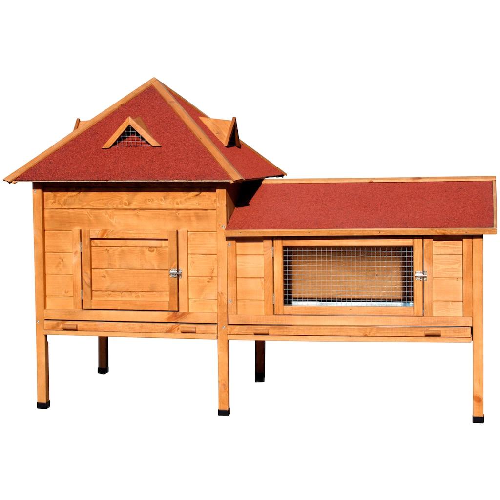 dobar Kleintierstall »Residenz XXL«, BxTxH: 190x98x138 cm