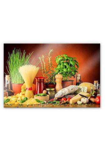 Wall-Art Küchenrückwand »Spritzschutz Italienisch Kochen« kaufen