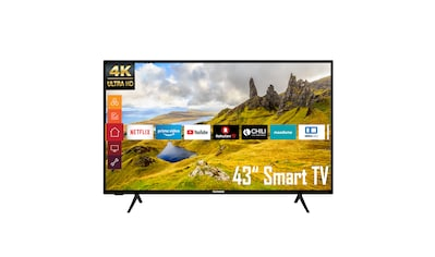 """Telefunken LED-Fernseher »XU43K521«, 108 cm/43 """", 4K Ultra HD, Smart-TV kaufen"""