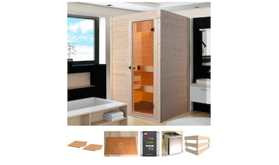 weka Sauna »Sara 2«, 9 kW Bio-Ofen mit ext. Steuerung kaufen