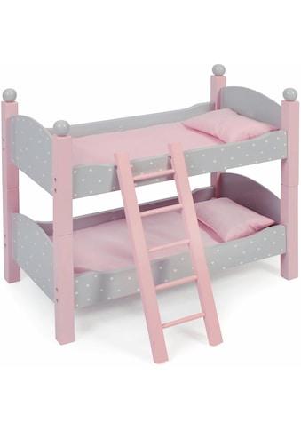 CHIC2000 Puppenbett »Puntos Grey«, auch als zwei Einzelbetten verwendbar kaufen