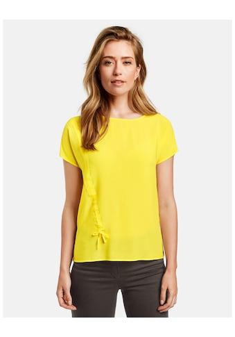 GERRY WEBER T - Shirt 1/2 Arm »Shirt mit Raffung« kaufen