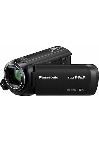 Panasonic Camcorder »HC-V380EG-K«, Full HD, WLAN (Wi-Fi), 50x opt. Zoom, Bildstabilisator kaufen