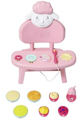 Baby Annabell Puppenhochstuhl »Lunch Time Tisch«, mit Licht- und Soundeffekten kaufen