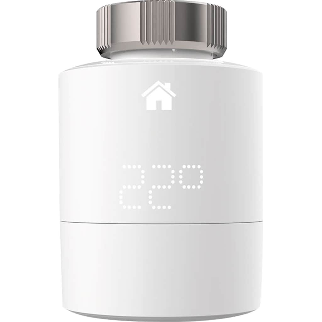Tado Smartes Heizkörperthermostat »Smartes Heizkörperthermostat Smart Heizungsthermostat - Starter Kit V3+ inkl 1 Bridge«