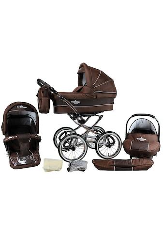 """bergsteiger Kombi - Kinderwagen """"Venedig, chocolate, 3in1"""", (10 - tlg.) kaufen"""