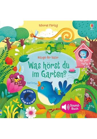 Buch »Klänge der Natur: Was hörst du im Garten? / Sam Taplin, Federica Iossa« kaufen