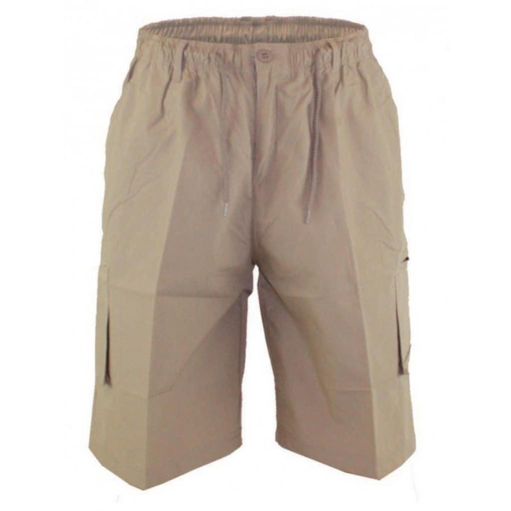 Duke Clothing Cargoshorts »Herren Cargo-Shorts Nick D555 mit elastischem Bund«