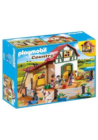 "Playmobil® Konstruktions - Spielset ""Ponyhof (6927), Country"", Kunststoff kaufen"