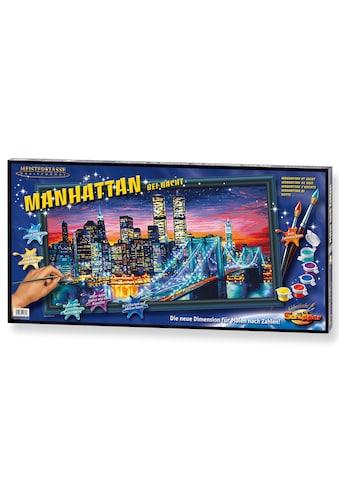 Schipper Malen nach Zahlen »Meisterklasse Breitformat - Manhattan bei Nacht«, Made in... kaufen