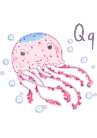 Wall-Art Wandtattoo »Qualle Unterwasserwelt Q« kaufen