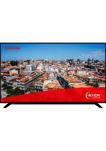 Toshiba 65U2963DG LED - Fernseher (164 cm / (65 Zoll), 4K Ultra HD, Smart - TV kaufen
