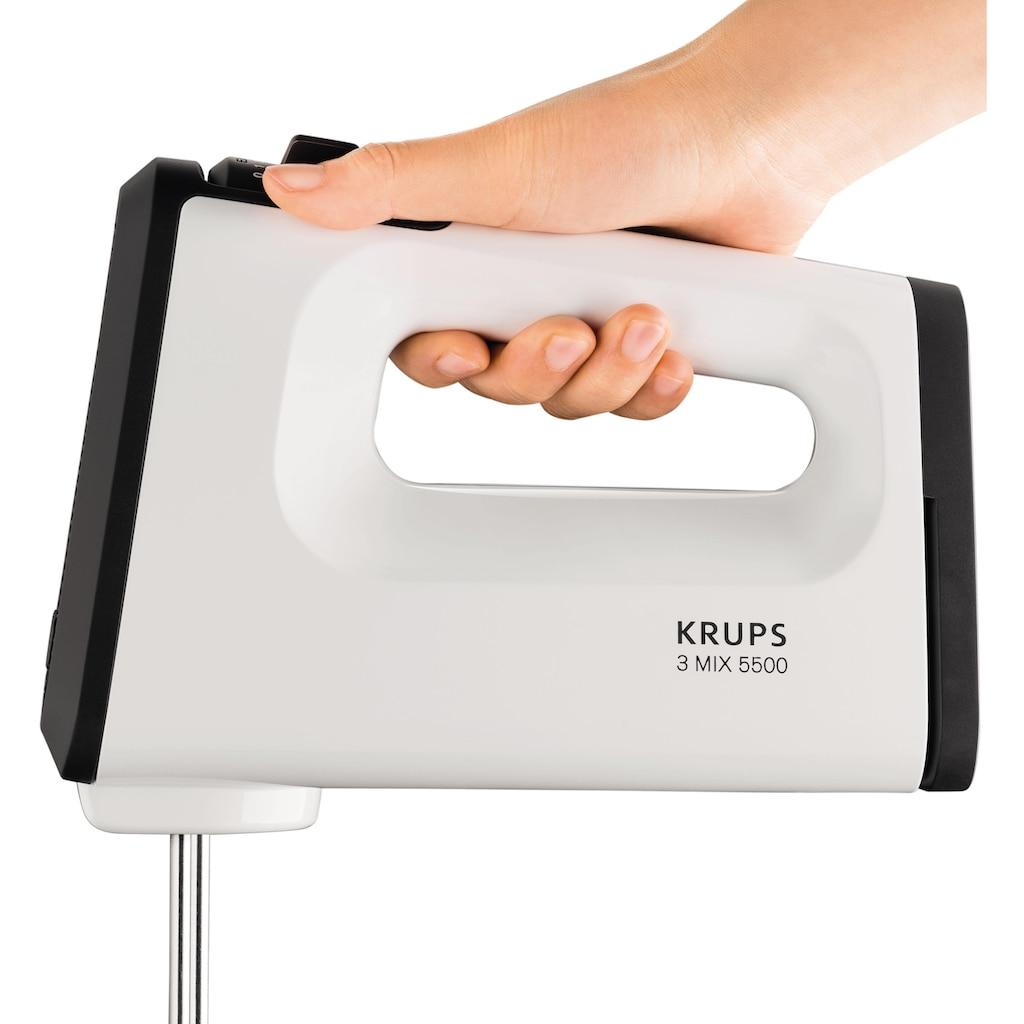 Krups Handmixer »GN5021 3«, 500 W, 5 Geschwindigkeiten, mit Turbostufe