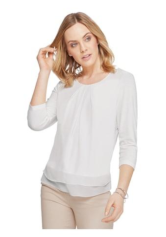 Inspirationen Shirt mit Blusenstoff - Einsatz kaufen