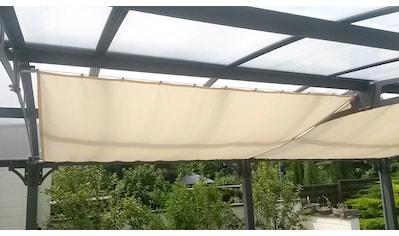 FLORACORD Sonnensegel »Innenbeschattung«, mit Seilspann - Set, BxL: 270x140 cm, 1 Feld kaufen