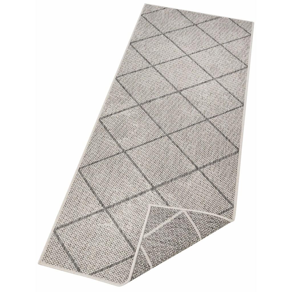 andas Läufer »Ferris«, rechteckig, 5 mm Höhe, In- und Outdoor geeignet, Wendeteppich