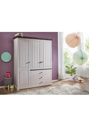 Premium collection by Home affaire Kleiderschrank »Julia«, aus Massivholz kaufen